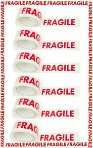6-PCS-FRAGILE-TAPE-66M-BY-48MM-SIX-ROLLS-FOR-HOBBIES-OFFICE-STUDENTS-6-ROOM-NEW