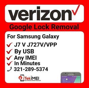 J7 V J727v J727vpp Google Account Removal Bypass Reset Frp