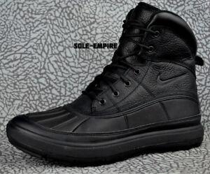 All Mens Winter Black Acg 525393 Ii Leather Boots 090 Woodside Nike UTSqPw 77a4ae4817458