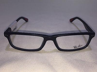 NEW Ray Ban RB5277 (2077) Matte Black 54[]17 140 Eyeglasses Frame