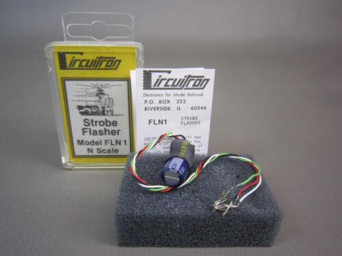 CIRCUITRON N SCALE 1023 FLN1 STROBE FLASHER 1.5V -YELLOW