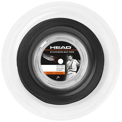 (0,43 €/m) Head Synthetic Bene Pps 17 Black 200 M Corde Tennis-mostra Il Titolo Originale