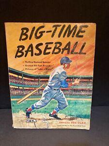 Vintage 1961 Big Time Baseball soft cover book
