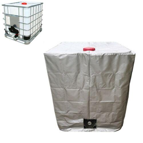 Abdeckplane Schutzhülle Schutzplane Haube IBC Behälter Regen Wasser Tank 1000l