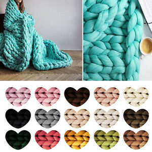 DIY Chunky Wool Yarn Super Bulky Arm Knitting Wool Sweater ...