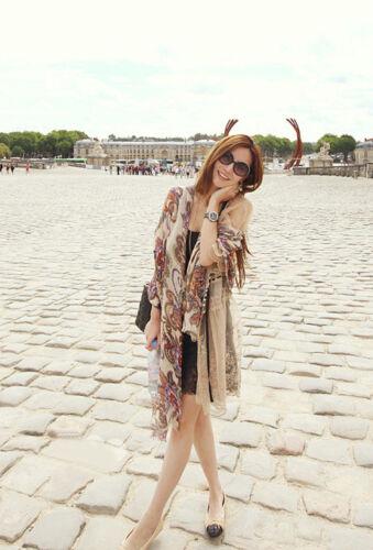 Fashion Women Printed Long Hijab Scarf Large Shawl Wrap Stole Islamic Scarves