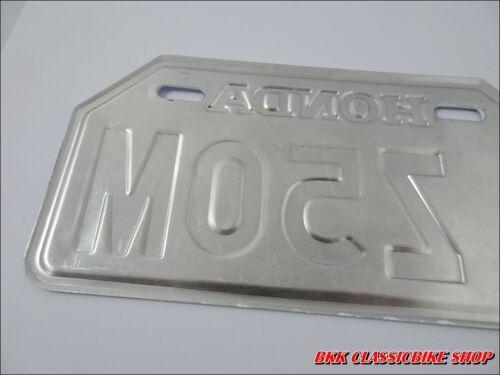 210mm x 105mm HONDA Z50M Z50 M MONKEYBIKE MINIBIKE  JAPANESE LICENSE PLATE