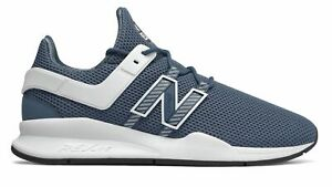 New-Balance-Men-039-s-247V2-Deconstructed-Shoes-Navy-With-White