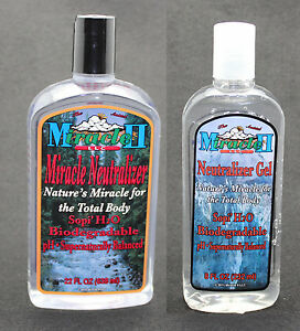 MIRACLE-II-22oz-NEUTRALIZER-LIQUID-amp-8oz-GEL-REPAIR-TONE-CLEANSE-SKIN-FREE-SHIP