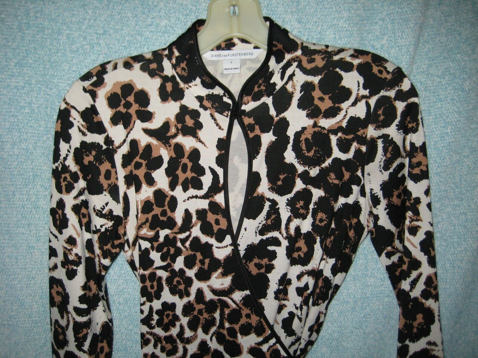 Diane Diane Diane von Furstenberg Leopard Asian Dress 2 8ee028