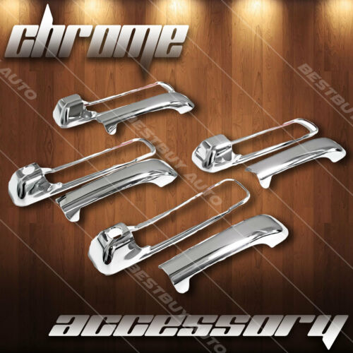 For 2005-2011 Jeep Grand Cherokee Chrome Door Handle Cover 4D