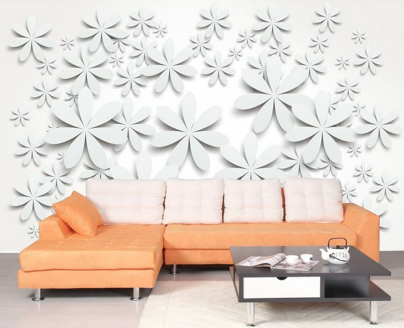3D Grain Flowers 754 Paper Wall Print Decal Wall Wall Murals AJ WALLPAPER GB