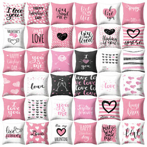 Am-KF-Love-Heart-Happy-Romantic-Pillow-Case-Cushion-Cover-Sofa-Bed-Office-Deco