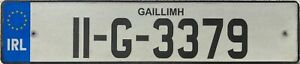 Southern Ireland Co Galway Eire Irish Number Licence License Plate 11-G-3379