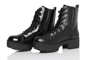 New-Womens-Ladies-Chunky-Block-High-Heel-Zip-Up-Lined-Ankle-Boots-Shoes-UK-3-8