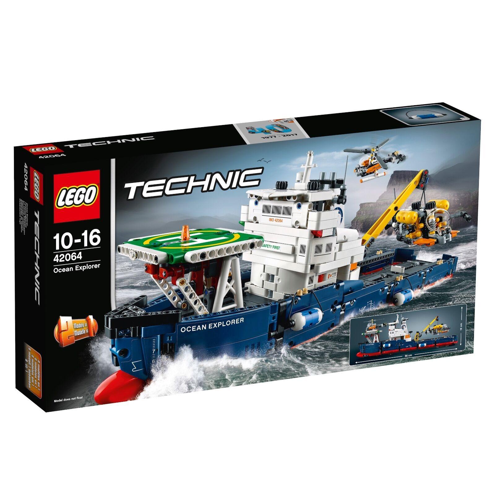 Lego Technic ® 42064 barco de investigación nuevo embalaje original _ Ocean Explorer New misb NRFB