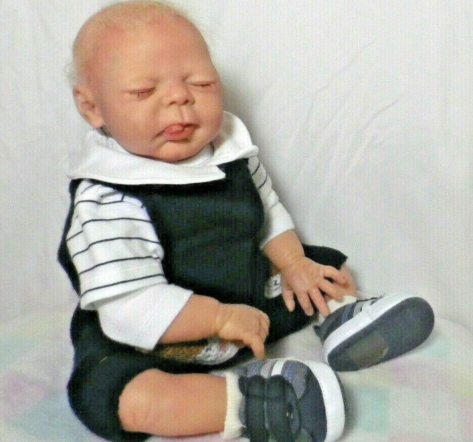 Reborn 21 inch baby boy doll by Elisa Marx