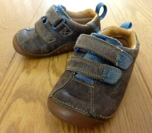 Clarks First Shoes Infant Brown Leather