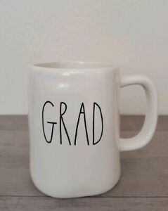 NEW RAE DUNN by Magenta GRAD Coffee Tea Mug Farmhouse Graduation Home Decor
