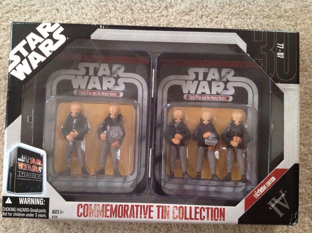 Star - wars - actionfiguren gedenk - sammlung