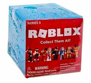 Lot of 7 Roblox Series 3 Blue Blind Box Figure New