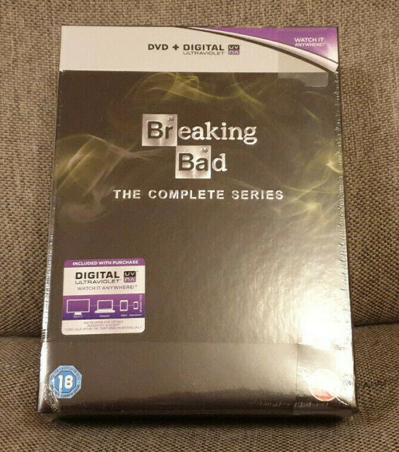 DVD Boxset Breaking Bad The Complete Series 1-5 + Final Season New Sealed