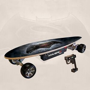 Details About New Maverix Usa Batman V Superman Urban Spirit 400w Electric Skateboard Urbdoj1