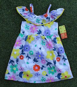 Penelope-Mack-Girl-039-s-Dress-Floral-Cold-Shoulder-Multi-Colors-Outfit-32-Size-6