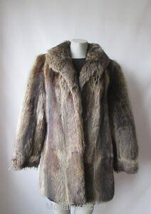 Women-039-s-Sz-8-MINT-Raccoon-Fur-Coat-Jacket-Sale