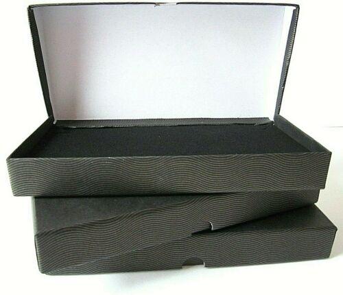 50 x Budget Long Jewellery Bracelet Gift Present Box-Hinged Lid-TES-4-WHOLESALE