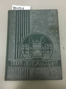 Details About Yb454 The Beacon 1950 Grover Cleveland High School Yearbook St Louis Mo
