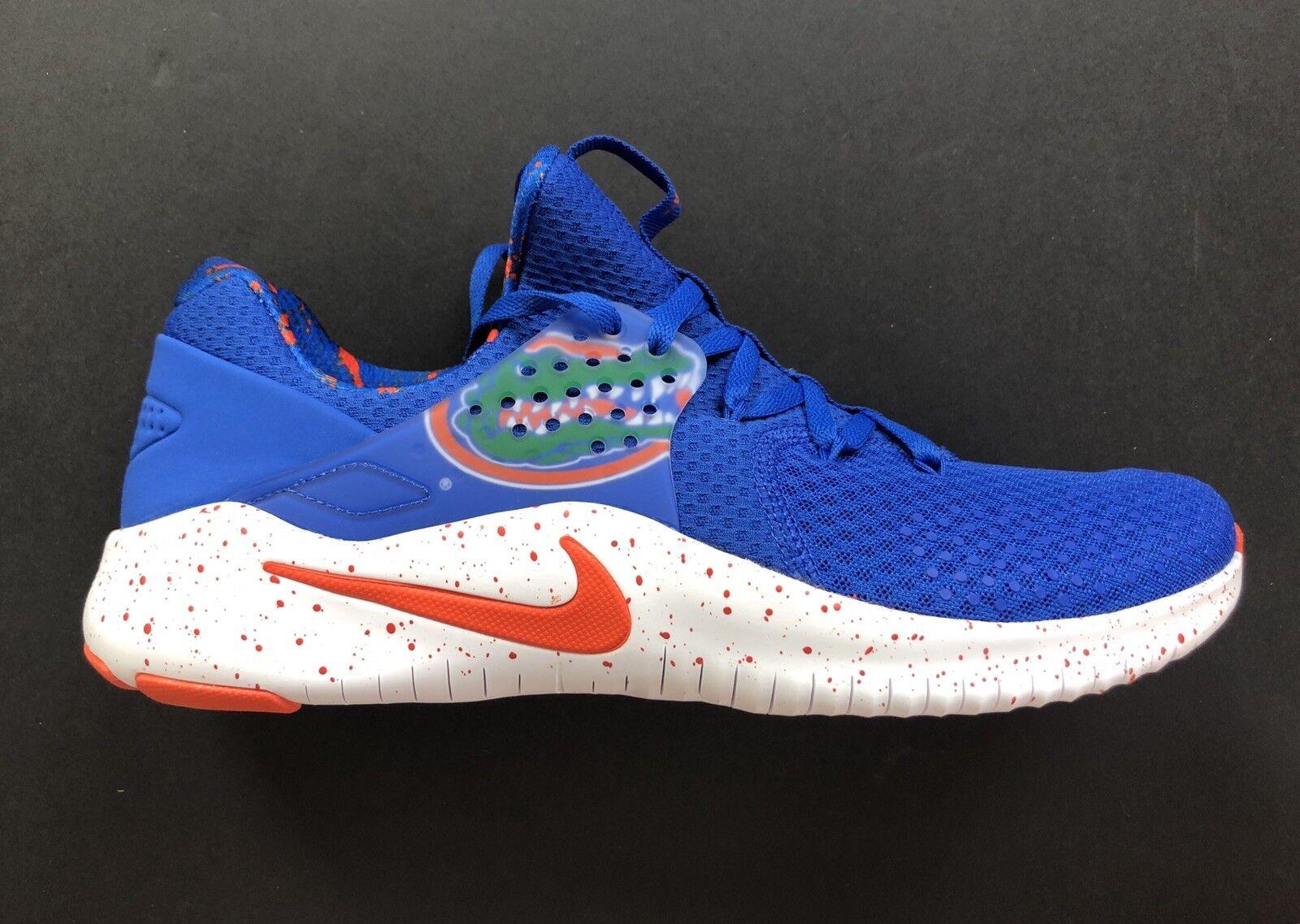 Nike Florida Gators Free TR 8 College shoes Game Royal AR0417-400 Size 10.5
