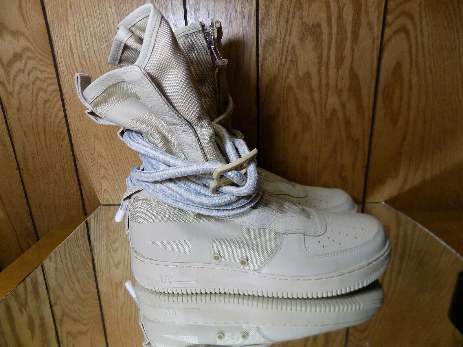 Nike SF AF1 Hi Rattan AA1128-200 9-12 air force boot special forces sp s. 9