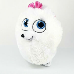 Build a Bear SECRET LIFE of PETS 2 White Dog GIDGET Plush Stuffed Animal Toy BAB