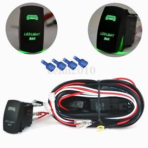 12v 40a 5 pin relay fuse wiring harness led light bar laser rocker image is loading 12v 40a 5 pin relay fuse wiring harness