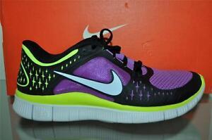 Nike Free Run 3 Womens Black Purple White