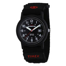 Timex Mens T40011 Expedition Camper Analog Quartz Black Watch For Men New Uk