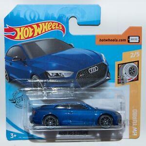 AUDI-RS-5-Coupe-Azul-1-64-escala-2020-Hot-Wheels-modelo-de-coche-de-juguete-regalo