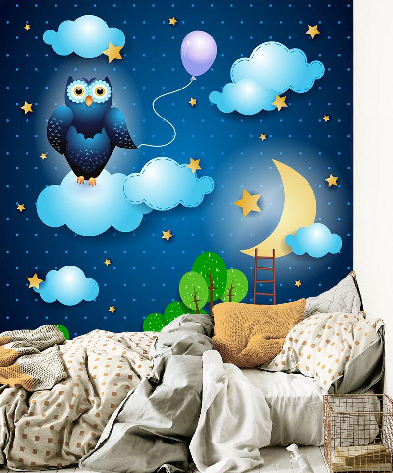 3D Cartoon Cloud Lamb 716 Wallpaper Mural Paper Wall Print Wallpaper Murals UK