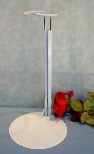 24-36-Inch-Doll-White-Metal-Doll-Stand