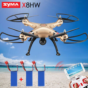 UK SYMA 2.4G X8HW FPV Wifi Camera RC Drone X8HG 720P HD Video ... Rc Drone Uk on
