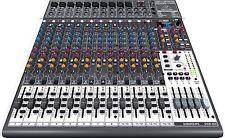 Behringer XENYX X2442USB mint 16-Channel USB i/O Mixer w/ 24-Bit Multi-Effects