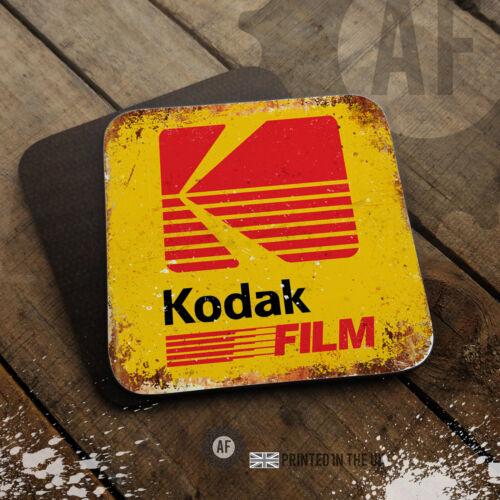 En bois brillant boissons//table Protectoin film 35 mm Photographie Coaster Collection