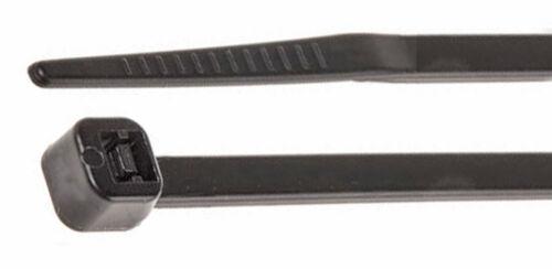 Mil Spec 140mm di lunghezza x larghezza 3.6mm Nero Confezione da 100 ct403b//100 Fascette