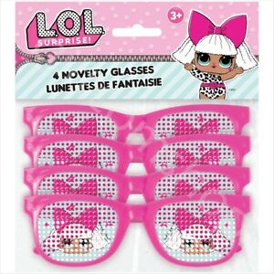 LOL-Surprise-Novelty-Pindot-Glasses-Girls-Birthday-Party-Bag-Fillers-Favours-x-4