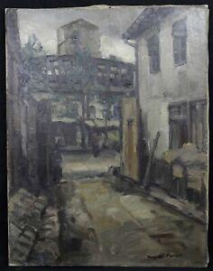 Leopold-Pascal-1900-1958-View-Paris-Newborn-in-Morlaix-Brittany-Chelsea-Museum