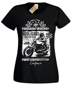 Lost-Boys-T-Shirt-Womens-biker-motorbike-rider-ladies-bike-top