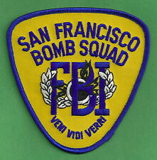 INTERNATIONAL ASSOCIATION of BOMB TECHNICIANS /& INVESTIGATORS PATCH Vintage