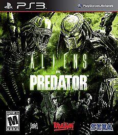 Alien Vs. Predator Sony PlayStation 3, 2010  - $7.40