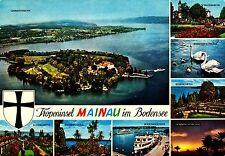 Tropeninsel Mainau im Bodensee , Ansichtskarte, 1973 gelaufen